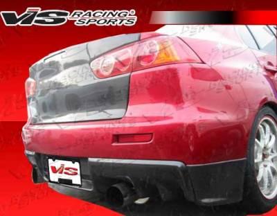 Lancer - Rear Bumper - VIS Racing. - Mitsubishi Lancer VIS Racing OEM Rear Lip - 08MTEV104DOE-012