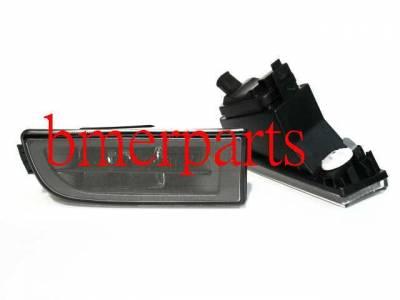 Headlights & Tail Lights - Fog Lights - Custom - E38 7 Series Black Fog Lamps