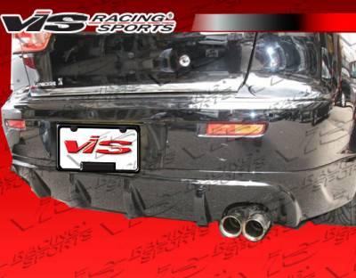 Lancer - Rear Bumper - VIS Racing - Mitsubishi Lancer VIS Racing Rally Rear Lip - 08MTLAN4DRAL-012
