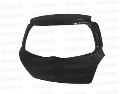 Yaris - Side Skirts - Seibon - Toyota Yaris Seibon OEM Style Carbon Fiber Side Skirts - SS0708TYYARHB-OE