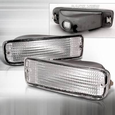 Headlights & Tail Lights - Corner Lights - Custom Disco - Toyota 4Runner Custom Disco Bumper Lights - LB-4RUN96-DP
