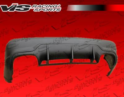 SL - Rear Bumper - VIS Racing - Mercedes-Benz SL VIS Racing Euro Tech Rear Bumper - 09MER2302DET-002