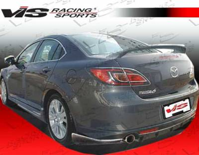 6 4Dr - Rear Bumper - VIS Racing - Mazda 6 VIS Racing VIP Rear Lip - 09MZ64DVIP-012