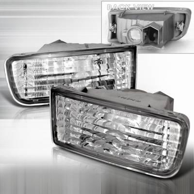 Headlights & Tail Lights - Corner Lights - Custom Disco - Toyota 4Runner Custom Disco Bumper Lights - LB-4RUN99-DP