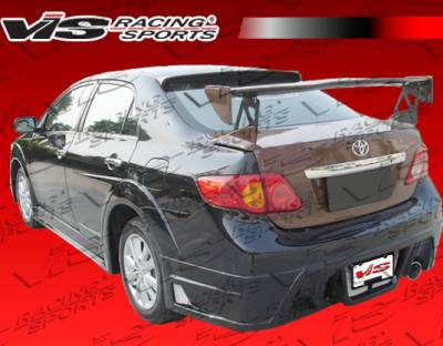 Corolla - Rear Bumper - VIS Racing. - Toyota Corolla VIS Racing GT Widebody Rear Bumper - 09TYCOR4DGTWB-002