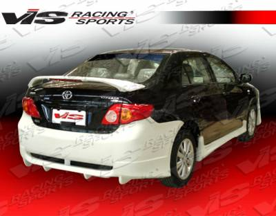 Corolla - Rear Bumper - VIS Racing - Toyota Corolla VIS Racing Icon Rear Bumper - 09TYCOR4DICO-002