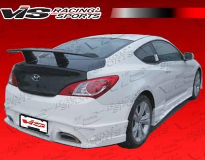 Genesis - Rear Bumper - VIS Racing - Hyundai Genesis VIS Racing GNX Rear Bumper - 10HYGEN2DGNX-002