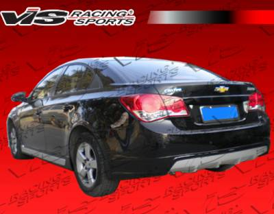 Cruze - Rear Bumper - VIS Racing - Chevrolet Cruze VIS Racing VIP Rear Lip - 11CHCRU4DVIP-012