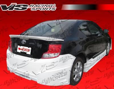 TC - Rear Bumper - VIS Racing - Scion tC VIS Racing GEN X Rear Bumper - 11SNTC2DGNX-002