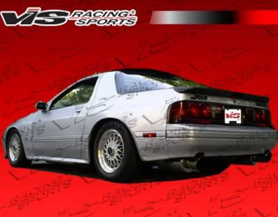 RX7 - Rear Bumper - VIS Racing - Mazda RX-7 VIS Racing Magnum Rear Lip - 79MZRX72DMAG-012