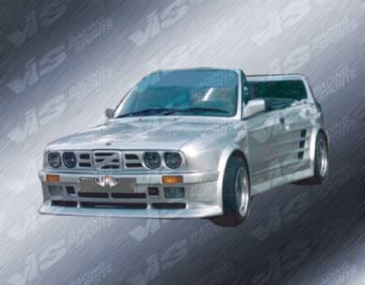 3 Series 4Dr - Rear Bumper - VIS Racing - BMW 3 Series VIS Racing GT Widebody Rear Bumper - 84BME302DGTWB-002