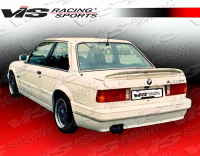 3 Series 4Dr - Rear Bumper - VIS Racing - BMW 3 Series VIS Racing M Tech Rear Bumper - 84BME302DMTH-002