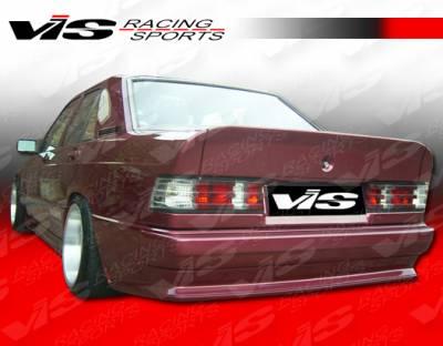 C Class - Rear Bumper - VIS Racing - Mercedes-Benz C Class VIS Racing EVO Widebody Rear Bumper - 84MEW2014DEVOWB-002