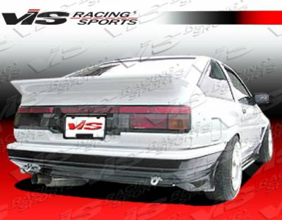 Corolla - Rear Bumper - VIS Racing - Toyota Corolla VIS Racing JB Rear Bumper - 84TYCOR2DJB-002