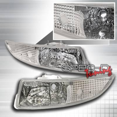Headlights & Tail Lights - Corner Lights - Custom Disco - Chevrolet Camaro Custom Disco Clear Bumper Lights - LB-CMR93-KS