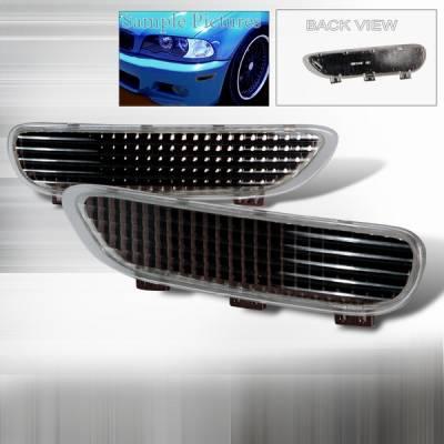Headlights & Tail Lights - Corner Lights - Custom Disco - BMW 3 Series Custom Disco Front Bumper Lights - LB-E46992G