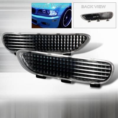 Headlights & Tail Lights - Corner Lights - Custom Disco - BMW 3 Series Custom Disco Front Bumper Lights - LB-E46992JM