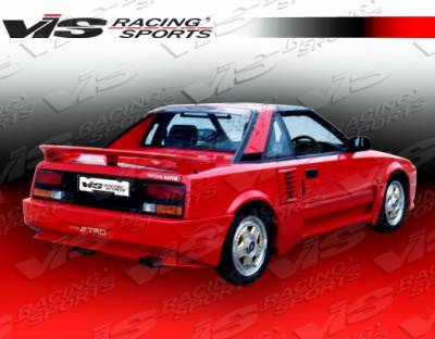 MR2 - Rear Bumper - VIS Racing - Toyota MR2 VIS Racing Techno R Rear Bumper - 85TYMR22DTNR-002