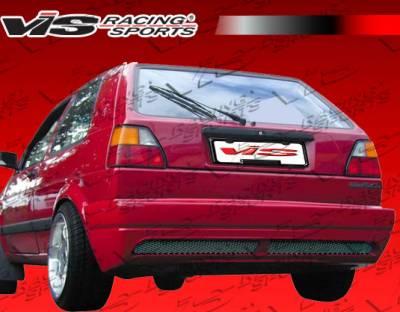 Golf - Rear Bumper - VIS Racing - Volkswagen Golf VIS Racing R Tech Rear Lip - 85VWGOF2DRTH-012