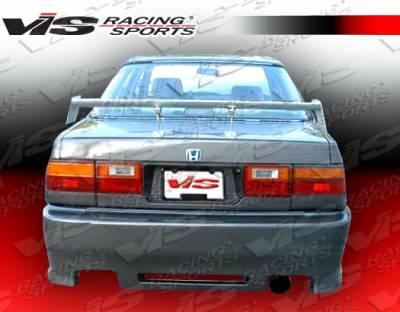 Accord 2Dr - Rear Bumper - VIS Racing - Honda Accord 2DR & 4DR VIS Racing Z1 boxer Rear Bumper - 86HDACC2DZ1-002