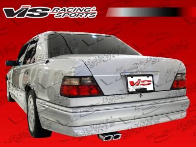 E Class - Rear Bumper - VIS Racing - Mercedes-Benz E Class VIS Racing Euro Tech Rear Bumper - 86MEW1244DET-002