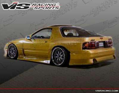 RX7 - Rear Bumper - VIS Racing - Mazda RX-7 VIS Racing B Speed Rear Bumper - 86MZRX72DBSP-002