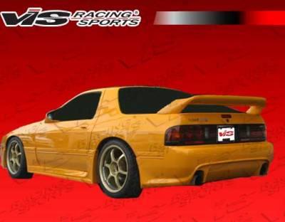 RX7 - Rear Bumper - VIS Racing - Mazda RX-7 VIS Racing Ballistix Rear Bumper - 86MZRX72DBX-002