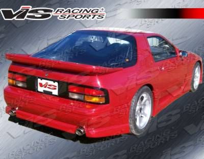 RX7 - Rear Bumper - VIS Racing - Mazda RX-7 VIS Racing G Speed Rear Bumper - 86MZRX72DGSP-002