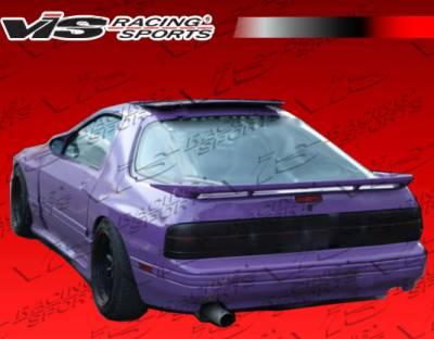 RX7 - Rear Bumper - VIS Racing - Mazda RX-7 VIS Racing Magnum Rear Lip - 86MZRX72DMAG-012