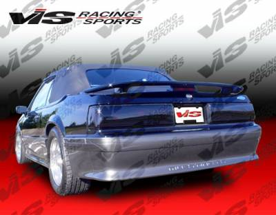 Mustang - Rear Bumper - VIS Racing - Ford Mustang VIS Racing Cobra R Rear Bumper - 87FDMUS2DCR-002