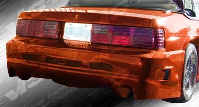 Mustang - Rear Bumper - VIS Racing - Ford Mustang VIS Racing GTX Rear Bumper - 87FDMUS2DGTX-002