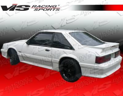Mustang - Rear Bumper - VIS Racing - Ford Mustang VIS Racing Stalker-2 Rear Bumper - 87FDMUS2DSTK2-002
