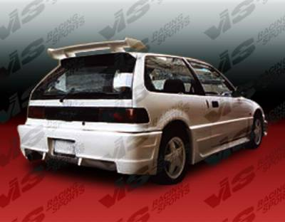 Civic HB - Rear Bumper - VIS Racing - Honda Civic HB VIS Racing Quest Rear Bumper - 88HDCVCHBQST-002