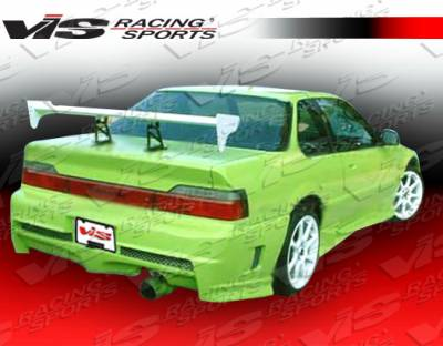Prelude - Rear Bumper - VIS Racing - Honda Prelude VIS Racing Xtreme Rear Bumper - 88HDPRE2DEX-002