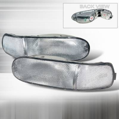 Headlights & Tail Lights - Corner Lights - Custom Disco - Mitsubishi Eclipse Custom Disco Rear Bumper Lights Lens - LB-RELP99