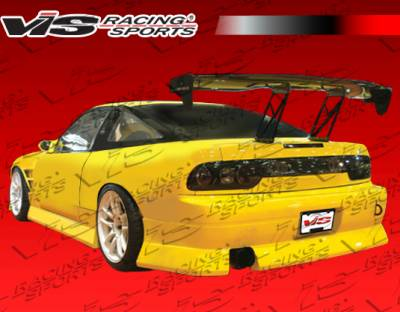 240SX HB - Rear Bumper - VIS Racing - Nissan 240SX HB VIS Racing B Speed Rear Bumper - 89NS240HBBSP-002