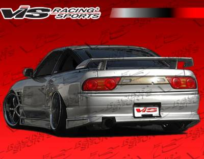 240SX HB - Rear Bumper - VIS Racing - Nissan 240SX HB VIS Racing Flex Rear Bumper - 89NS240HBFLX-002