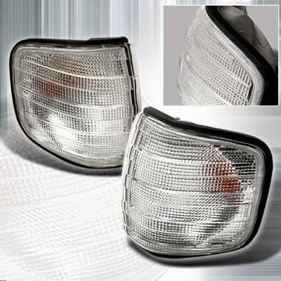 Headlights & Tail Lights - Corner Lights - Custom Disco - Mercedes-Benz S Class Custom Disco Corner Lights - LC-BW12689-KS