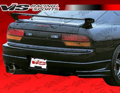 240SX HB - Rear Bumper - VIS Racing - Nissan 240SX HB VIS Racing Tracer Rear Lip - 89NS240HBTRA-012