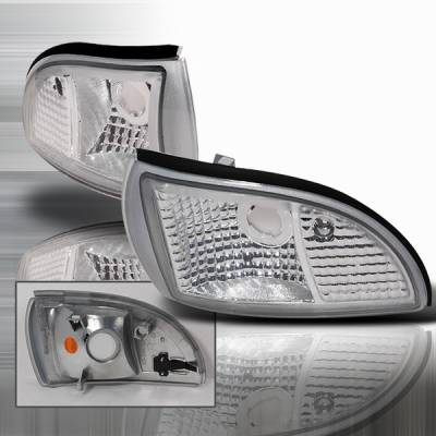 Headlights & Tail Lights - Corner Lights - Custom Disco - Chevrolet Impala Custom Disco Corner Lights - LC-CAP91-KS