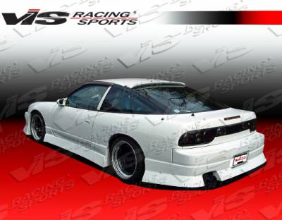 240SX HB - Rear Bumper - VIS Racing - Nissan 240SX HB VIS Racing V Spec-4 Rear Bumper - 89NS240HBVSC4-002