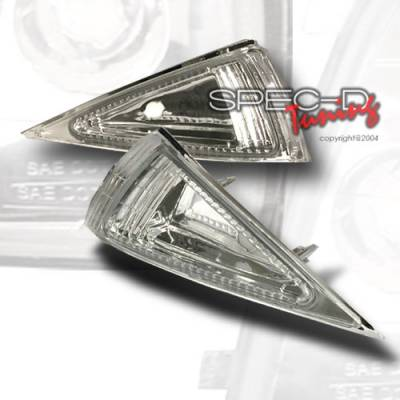 Headlights & Tail Lights - Corner Lights - Custom Disco - Chevrolet Cavalier Custom Disco Clear Corner Lights - LC-CAV95-KS