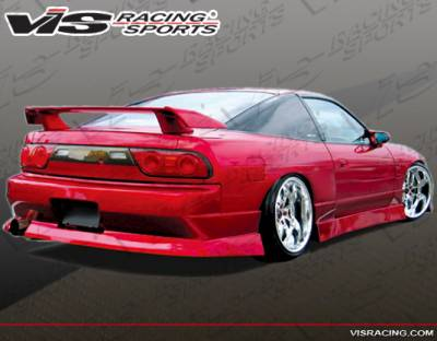 240SX HB - Rear Bumper - VIS Racing - Nissan 240SX HB VIS Racing Werk 9 Rear Bumper - 89NS240HBWK9-002