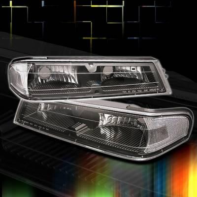 Headlights & Tail Lights - Corner Lights - Custom Disco - GMC Canyon Custom Disco Corner Lights - LC-COL04JM-TM