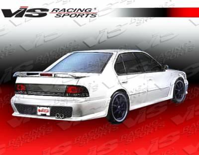 Maxima - Rear Bumper - VIS Racing - Nissan Maxima VIS Racing Kombat Rear Bumper - 89NSMAX4DKOM-002