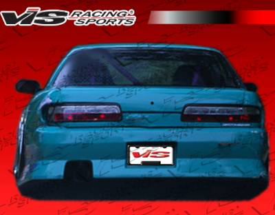 S13 - Rear Bumper - VIS Racing. - Nissan S13 VIS Racing B Speed Widebody Rear Bumper - 89NSS132DBSPWB-002