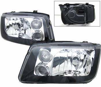 Headlights & Tail Lights - Headlights - 4CarOption - Nissan Pathfinder 4CarOption Headlights - LH-NP99BC-KS