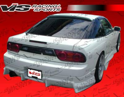 S13 - Rear Bumper - VIS Racing - Nissan S13 VIS Racing V Spec S Rear Bumper - 89NSS132DVSCS-002