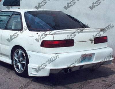 Integra 2Dr - Rear Bumper - VIS Racing - Acura Integra 2DR VIS Racing Battle Z Rear Bumper - 90ACINT2DBZ-002