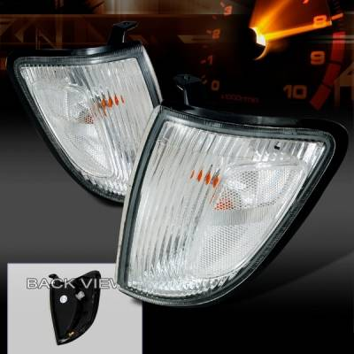 Headlights & Tail Lights - Corner Lights - Custom Disco - Dodge Dakota Custom Disco Clear Corner Lights - LC-DAK99-KS